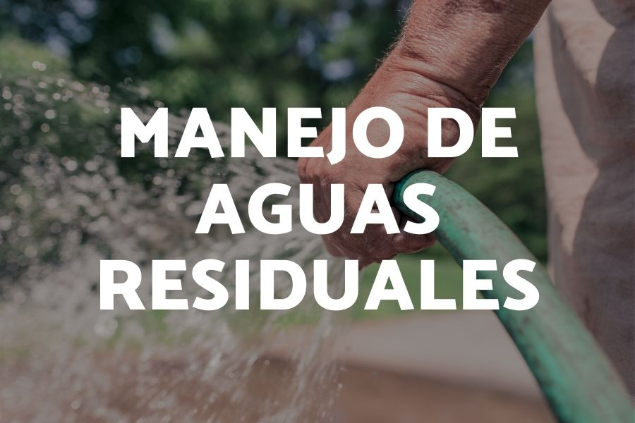 MANEJO DE AGUAS RESIDUALES